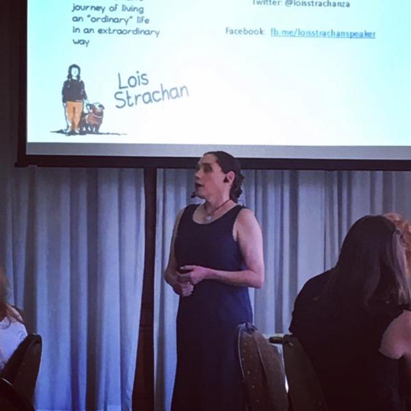 Lois book launch